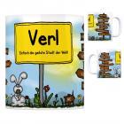 Verl - Einfach die geilste Stadt der Welt Kaffeebecher