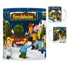 Forchheim, Oberfranken Weihnachtsmarkt Kaffeebecher