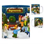 Hoyerswerda Weihnachtsmarkt Kaffeebecher