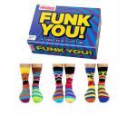 Verrückte Socken Oddsocks Funk You! für Männer im 6er Set