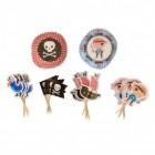 Piraten Cupcake Set