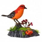 Vogel Stiftehalter mit Sound in rot