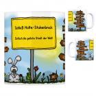 Schloß Holte-Stukenbrock, Stadt Gütersloh - Einfach die geilste Stadt der Welt Kaffeebecher