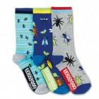 Insekten Socken in 30,5-39 im 3er Set