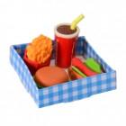 Fast Food Radiergummis im 4er Set