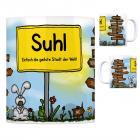 Suhl - Einfach die geilste Stadt der Welt Kaffeebecher