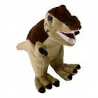 T-Rex Dinosaurier Kuscheltier in braun