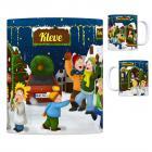 Kleve, Niederrhein Weihnachtsmarkt Kaffeebecher