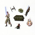 Star Wars 3D Sticker Variante 5 im 7er Set