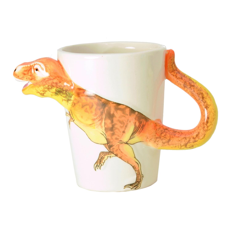 trex dinosaurier kaffeebecher mit 3deffekt  hier online