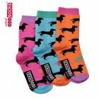 Die verrückten Flo Socken für Frauen im 3er Set