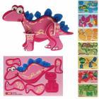 Dinosaurier 3D-Puzzles im 8er Set