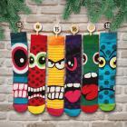 Oddsocks Socken Adventskalender mit 24 Socken für Männer