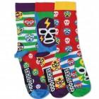 Oddsocks Wrestling Maske Socken im 3er Set