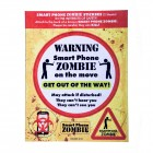 Smartphone Zombie Sticker im 8er Set