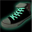 Leuchtende Schnürsenkel - grün