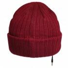 iMusic Mütze mit Kopfhörern - Strickmütze burgunderrot