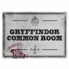 Harry Potter Gryffindor Gemeinschaftsraum Blechschild in 15x20 cm