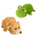 Frosch und Bär 2in1 Krempel Kuscheltier