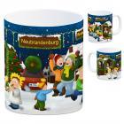 Neubrandenburg, Mecklenburg Weihnachtsmarkt Kaffeebecher