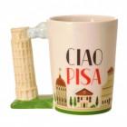 Schiefer Turm von Pisa Kaffeebecher