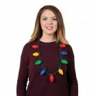 Weihnachten Halskette Lichterkette