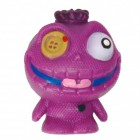 Mini Monster Stressball in lila mit Knopfauge
