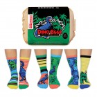 Dino Eier Oddsocks Socken in 30,5-39 im 6er Set