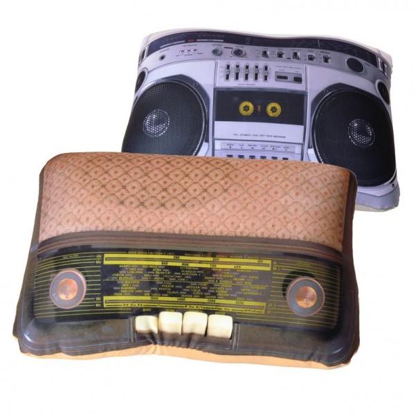 Retro radio kissen der shop f r geschenke trends und dekoartikel - Retro dekoartikel ...