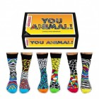 You Animal Oddsocks Socken in 39-46 im 6er Set