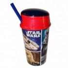Star Wars Charaktere Trinkbecher mit Snackfach