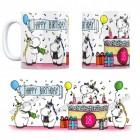 18. Geburtstag Kaffeebecher mit Einhorn Party Motiv
