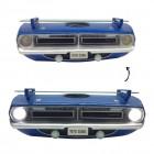 Dodge Cuda 1970 Plymouth Barracuda 3D Regal mit Beleuchtung