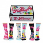 Go Flamingo Oddsocks Socken in 37-42 im 6er Set