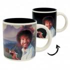 Bob Ross Kaffeebecher mit Wärmeeffekt