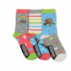 Faultier Oddsocks Socken in 37-42 im 3er Set
