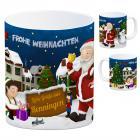 Renningen Weihnachtsmann Kaffeebecher