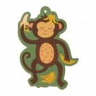 Affe mit Bananen Lufterfrischer