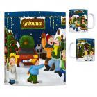 Grimma Weihnachtsmarkt Kaffeebecher