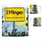Ettlingen - Einfach die geilste Stadt der Welt Kaffeebecher