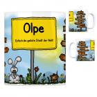 Olpe, Biggesee - Einfach die geilste Stadt der Welt Kaffeebecher