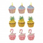 Cupcake 3D Sticker im 9er Set
