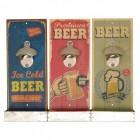 Retro Beer Flaschenöffner mit Auffangbehälter