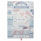 Harry Potter Quidditch Notizbuch mit 200 linierten Seiten