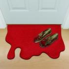 Die Blut Fußmatte