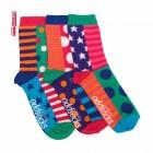 3 Verrückte Socken - Oddsocks Chloe für Frauen