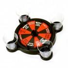 Roulette Trinkspiel mit 4 Schnapsgläsern