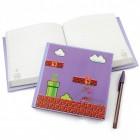 Super Mario Notizbuch mit 3D Effekt