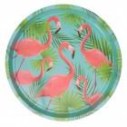 Flamingo Serviertablett in grün