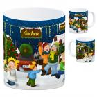 Aachen Weihnachtsmarkt Kaffeebecher